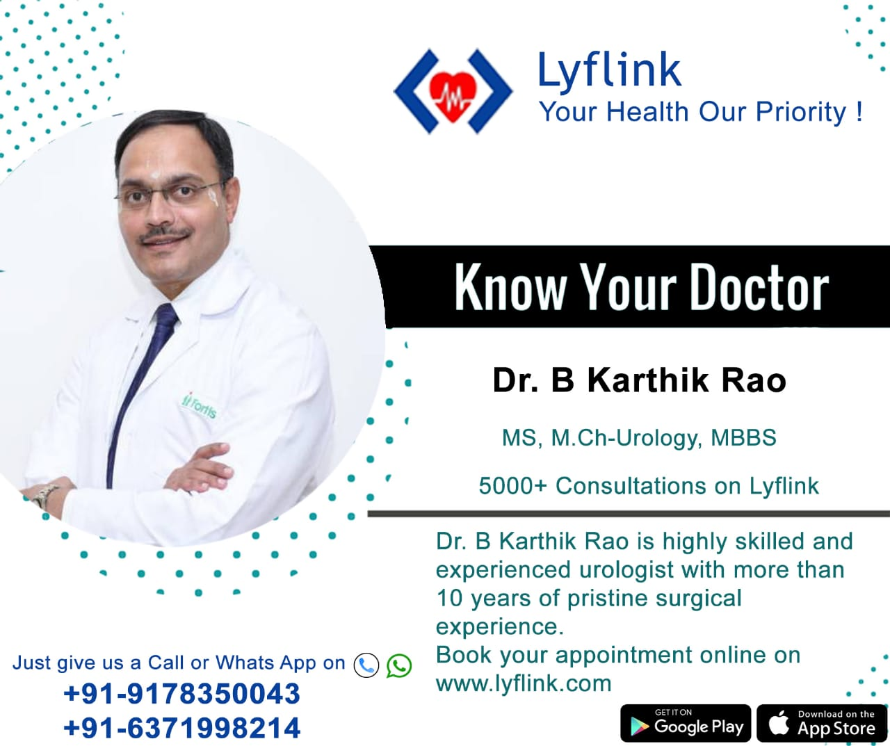 Dr. Kartik Rao