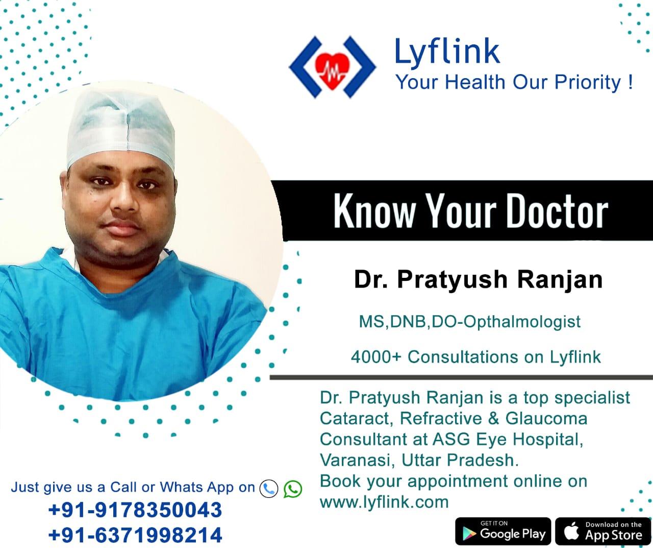 Dr. Pratyush Ranjan